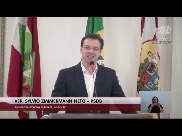 17/10/2019 - Pronunciamento Sessão Ordinária