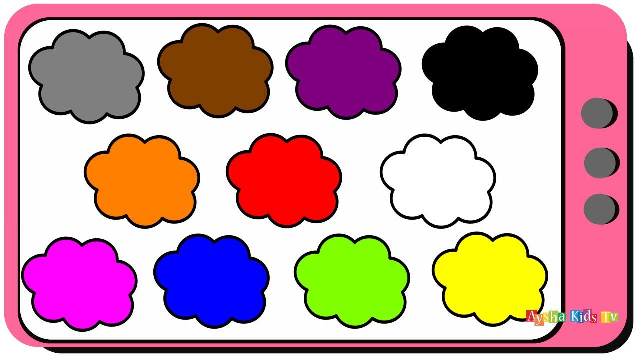 Teach Kids Colors In English الألوان باللغة الإنجليزية للأطفال تعلم الالوان بالإنجليزية Youtube