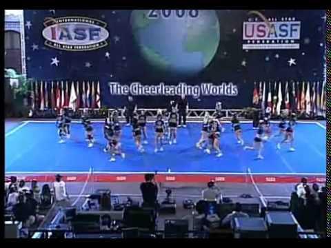 Cheer Athletics FierceKatz Small International Open All Girl Finals 2008