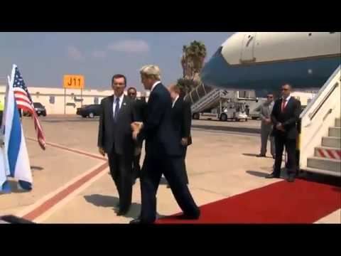 Kerry in Israel to push for Gaza cease fire