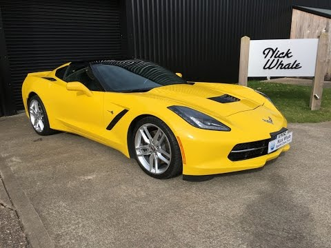 For Sale - 2015 Corvette Stingray Z51 3LT Manual - 1 Owner - Nick Whale Sports Cars