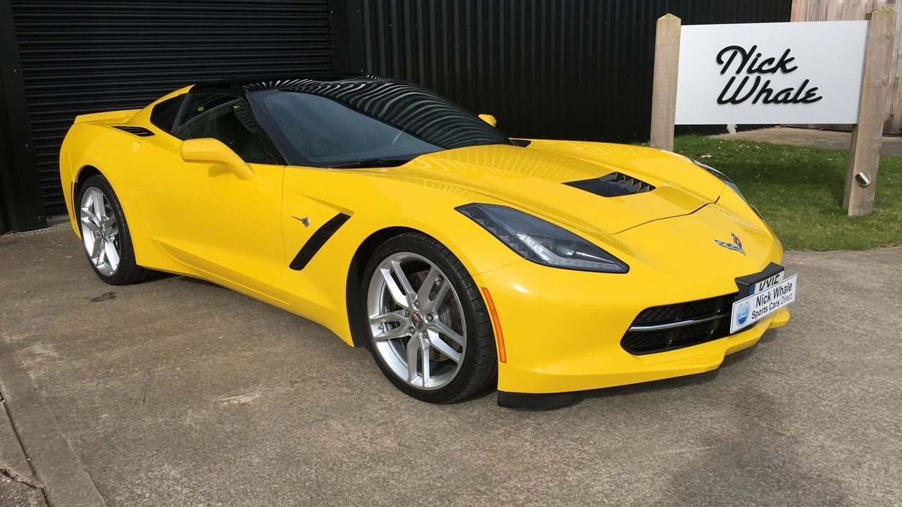 for sale 2015 corvette stingray z51 3lt manual 1 owner nick whale sports cars youtube. Black Bedroom Furniture Sets. Home Design Ideas