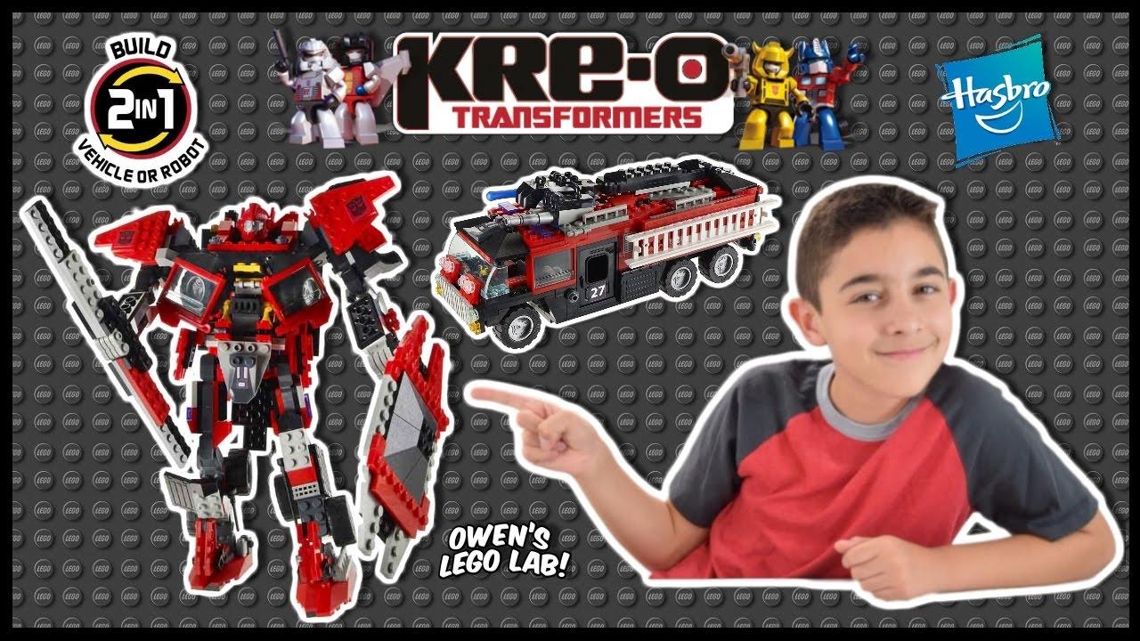 w// 4 Kreons Sentinel Prime #30687 KRE-O TRANSFORMERS Construction NEW Kre o