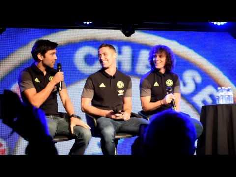 An evening with David Luiz, Gary Cahill and Paulo Ferreira Part 1