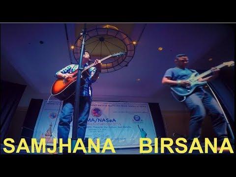 Samjhana Birsana | old nepali songs mashup cover - Arun Lama - YouTube