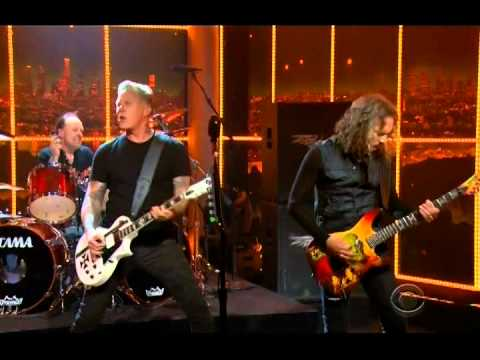 "Metallica Perform ""Fuel"" at Craig Ferguson (2014-11-18)"