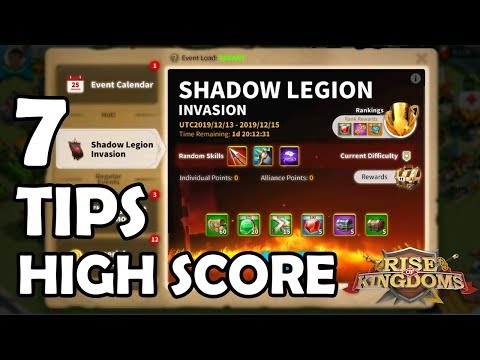 7 Tips and Tricks to Score High on Shadow Legion Invasion | Rise of Kingdoms