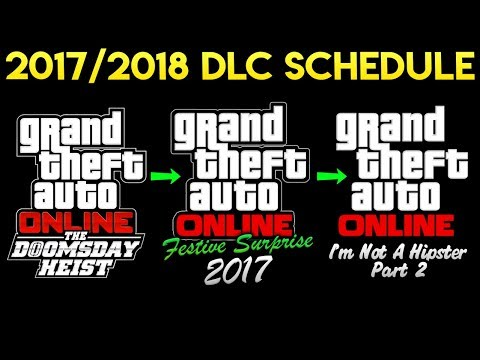 Rockstar Hints at Upcoming DLC Schedule - Doomsday Heist, Festive Surprise 2017 & Drip Feed 2018