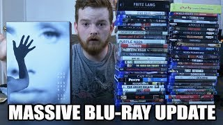 MASSIVE Blu-ray Collection Update!! (4K, Criterion, Black Friday)
