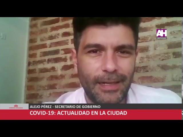 ALEJO PÉREZ   SECRETARIO DE GOBIERNO   CONFERENCIA DE PRENSA COVID 19