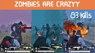 You Wont Believe How We Survived in This Zombie Mode   PUBG MOBILE
