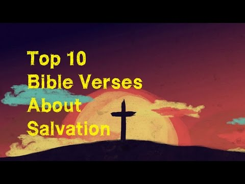 Top Bible Verses About Salvation