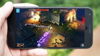 Top 10 Best Games Like DIABLO For Android - OFFline / ONline Action RPG