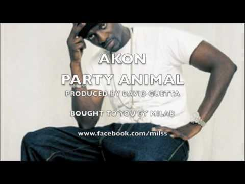 Akon - Party Animal (produced By David Guetta)