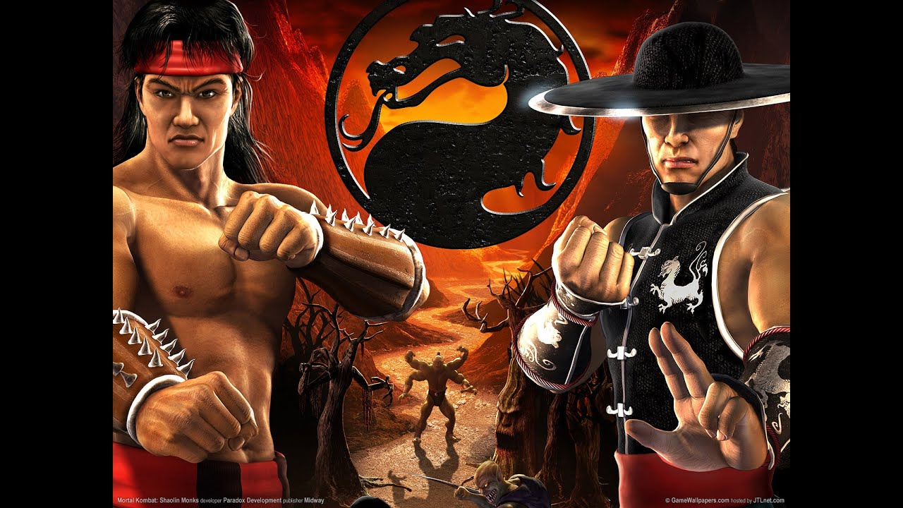mortal kombat: shaolin monks - ps2 ultra hd 60fps - pcsx2 emulador