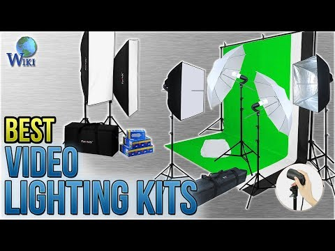 10 Best Video Lighting Kits 2018