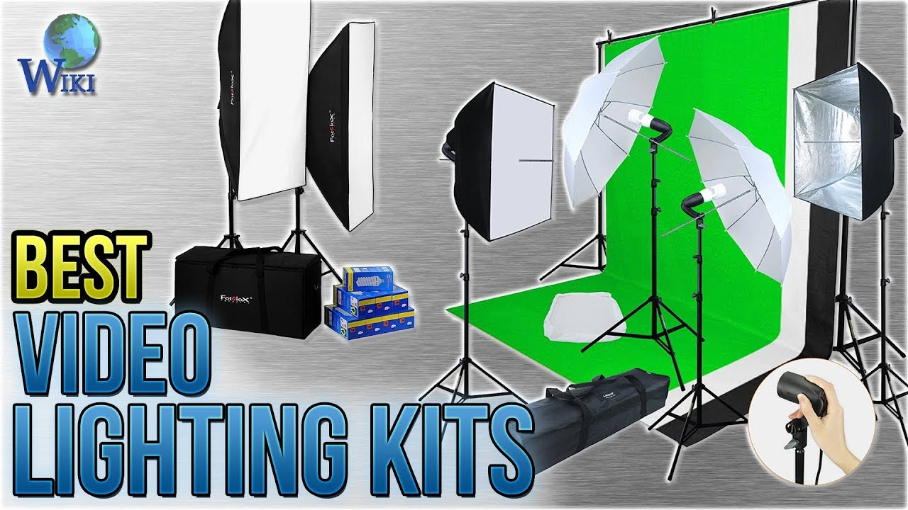10 Best Video Lighting Kits 2018 You