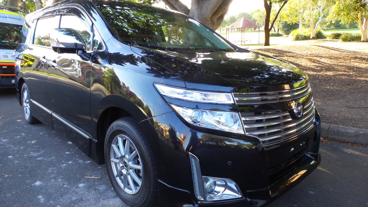 Nissan Elgrand E52 Top Of The Range Highway Star Premium