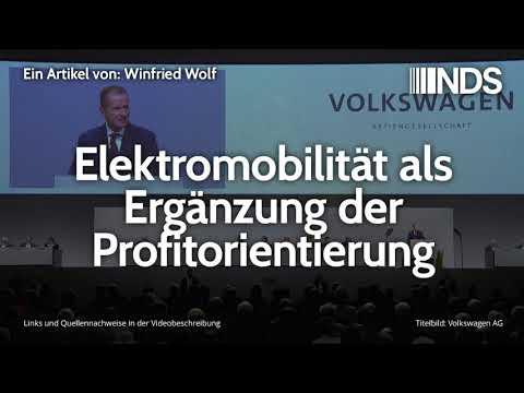 Elektromobilität als Ergänzung der Profitorientierung | Winfried Wolf | NachDenkSeiten-Podcast