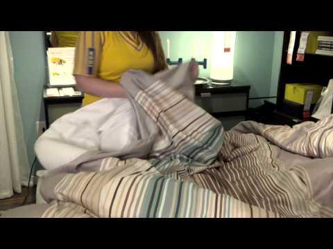 The Perfect Bedroom Comforter - IKEA Home Tour