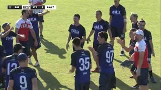 WFDF World Under 24 Ultimate Championship: Germany vs. Italy - Men's