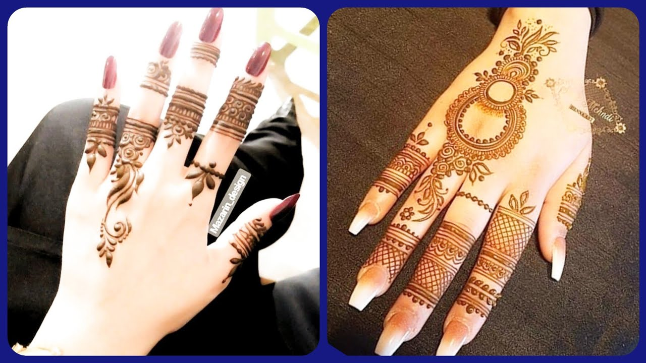top mehndi design 2021