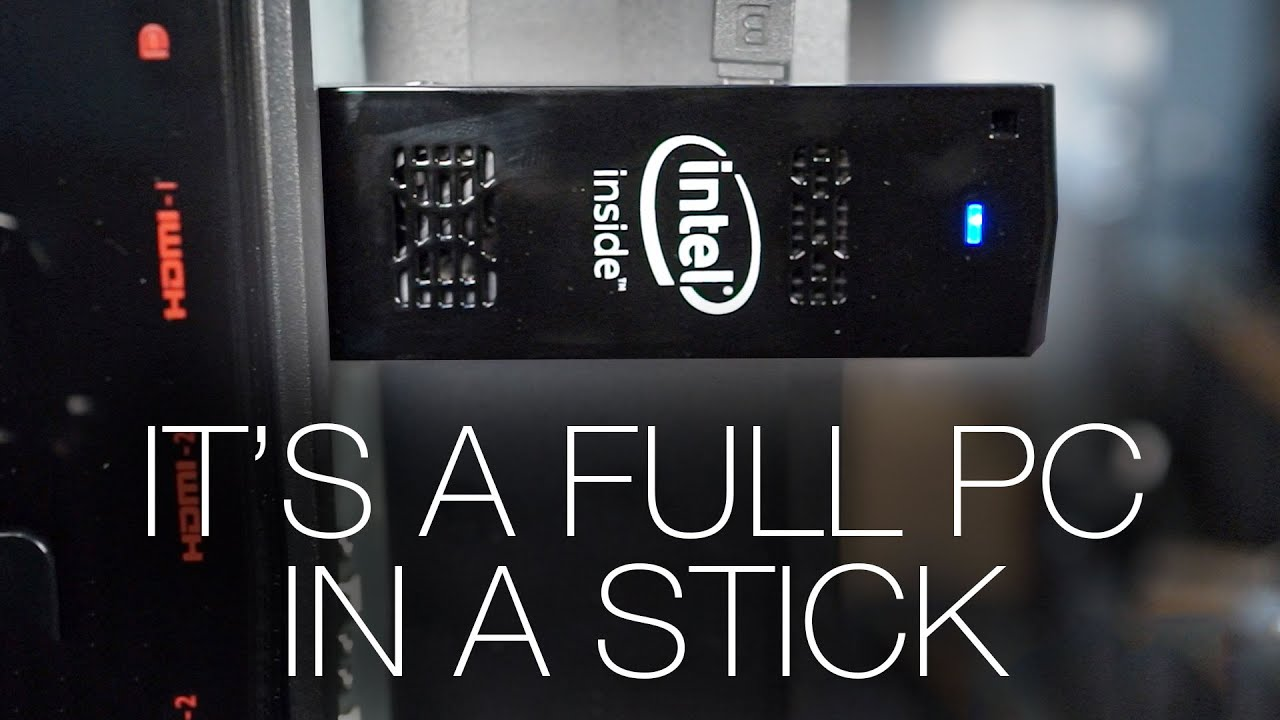 Intel Compute Stick Review - YouTube