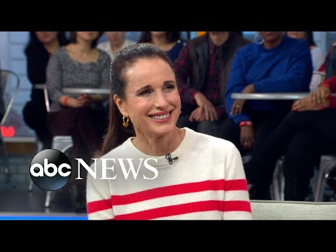 Andie MacDowell opens up about 'Love After Love' on 'GMA'