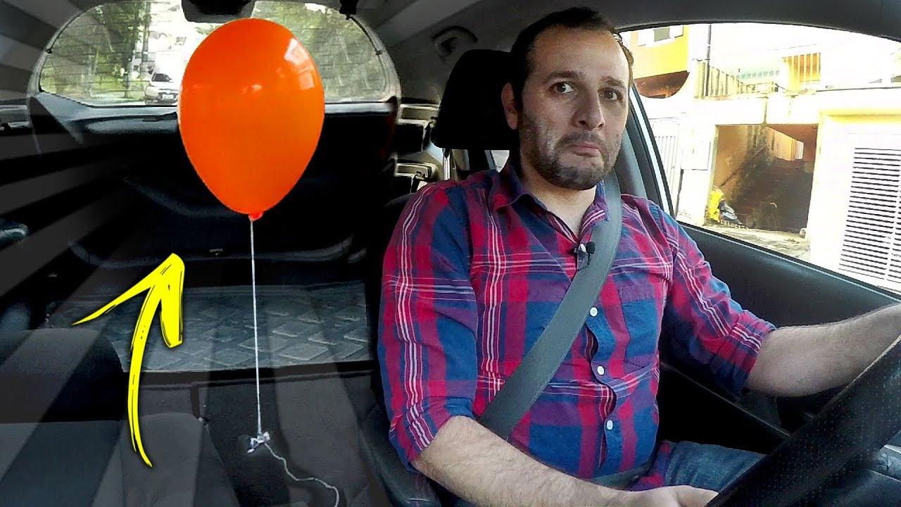 O balão que desobedece a física