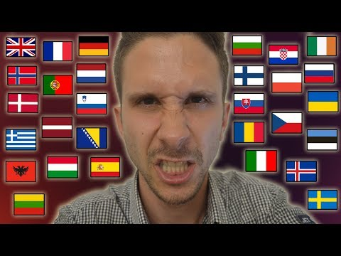 "How To Say ""I HATE YOU!"" In 35 Different Languages"
