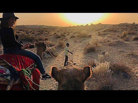 Real Desert Man Camel Safari