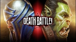 Footman vs Grunt full case comparision| | Human vs Orc | FHD 1080P | Warcraft III 1.29