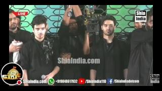LIVE Nadeem Sarwar, Ali Shanawar, Ali Jee, Syed Zhaigham Razvi Sahab Qibla From Hyderabad India