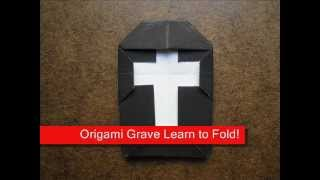 How To Make An Origami Grave