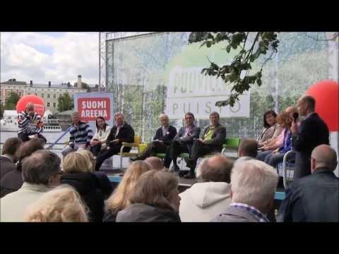 SuomiAreena 2013, Kansanedustajat lauteilla