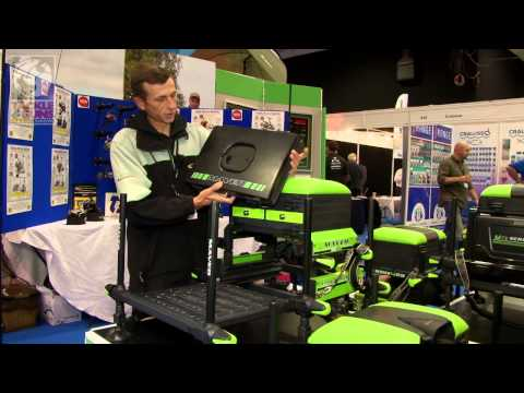 Maver at the Tackle and Gun Show introduces its new Seatbox.