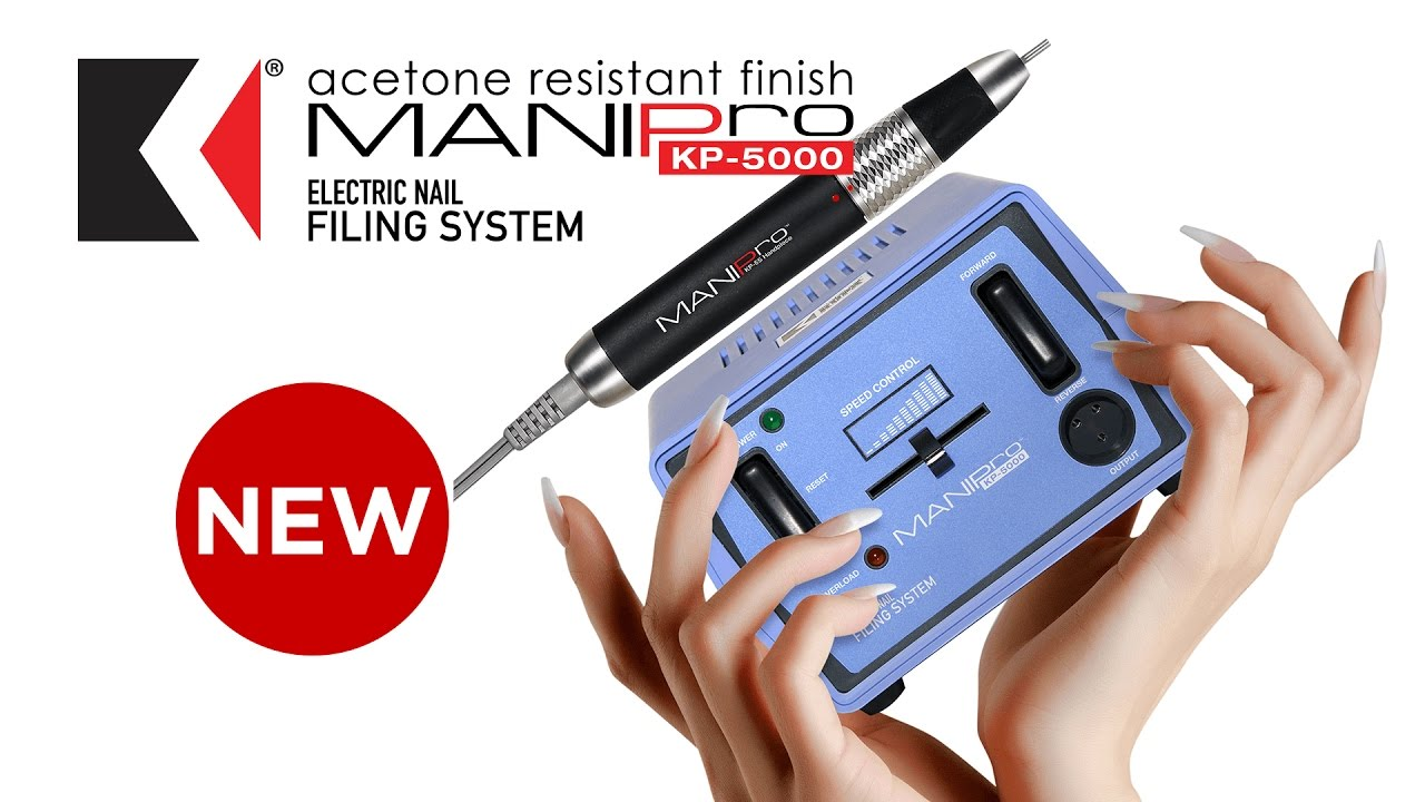 Unboxing the newest E-file from KUPA Inc. the MANIPro KP-5000 - YouTube