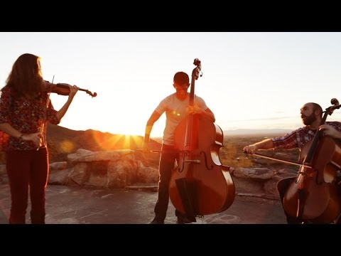 Fix You / Clocks - Coldplay (violin/cello/bass mashup) - Simply Three