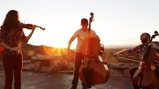 Repeat youtube video Fix You / Clocks - Coldplay (violin/cello/bass mashup) - Simply Three
