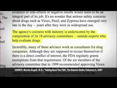 PhRMA now controls the FDA