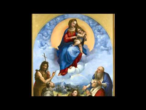 Madonna of Foligno a painting by Raphael