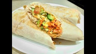 Сочная и Вкусная Шаурма с Курицей/Любимый Рецепт Домашней Шаурмы