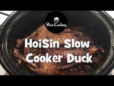 Hoisin Slow Cooker Duck