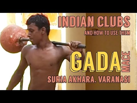 Indian Clubs | Suria Akhara GADA Mace Training