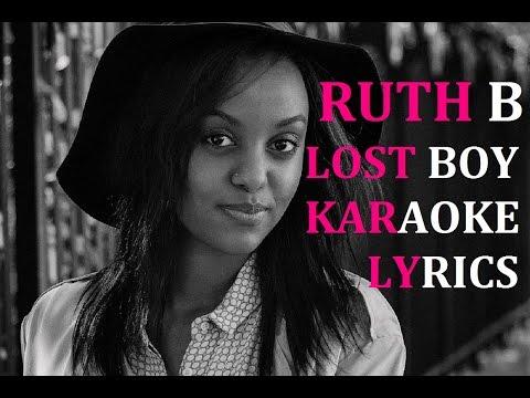 RUTH B - LOST BOY KARAOKE COVER LYRICS
