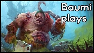 Dota 2 | SUPER GANKING SUPPORT HOOKER!! | Baumi plays Pudge