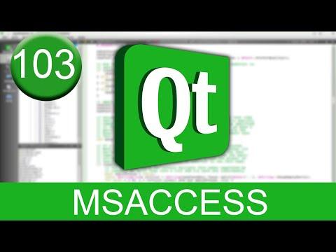 Tutorial Qt Creator - Microsoft Office Access (SQL en C++)