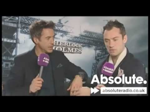 Sherlock Holmes interview: Robert Downey Jr. and Jude Law