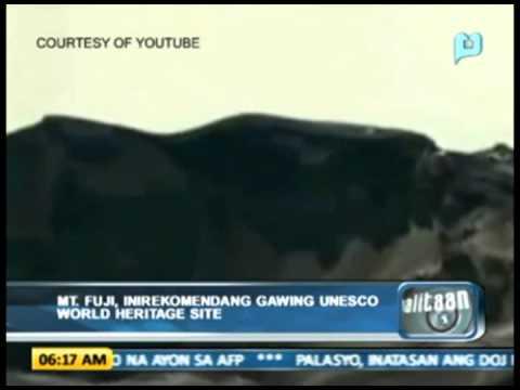 Balitang Abroad: Mt. Fuji, inirekomendang gawing Unesco World Heritage Site