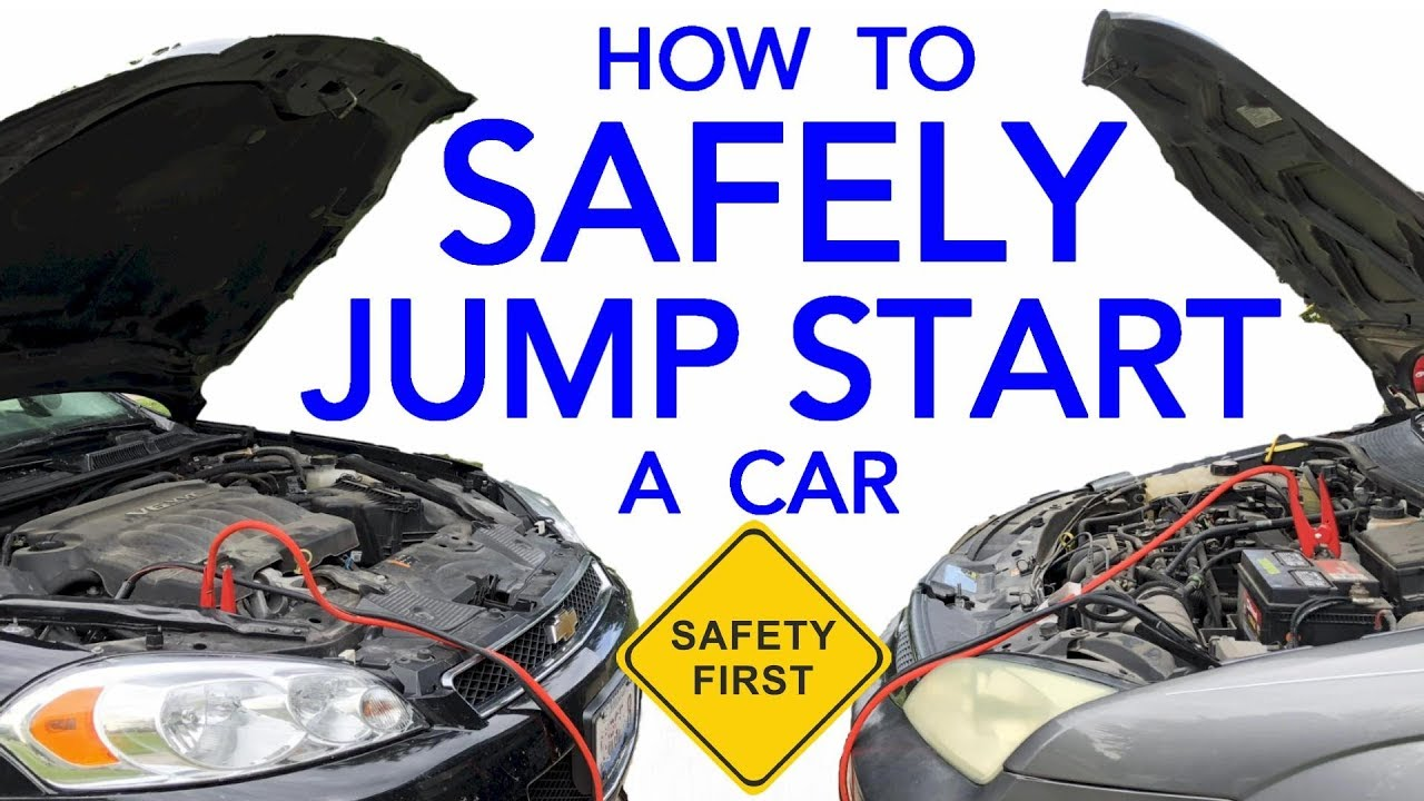 How To Start A Car With A Dead Battery >> How To Safely Jump Start A Vehicle With A Dead Battery The Correct Way To Hook Up Jumper Cables